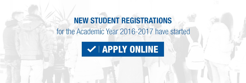 Apply for the Academic Year 2016-2017