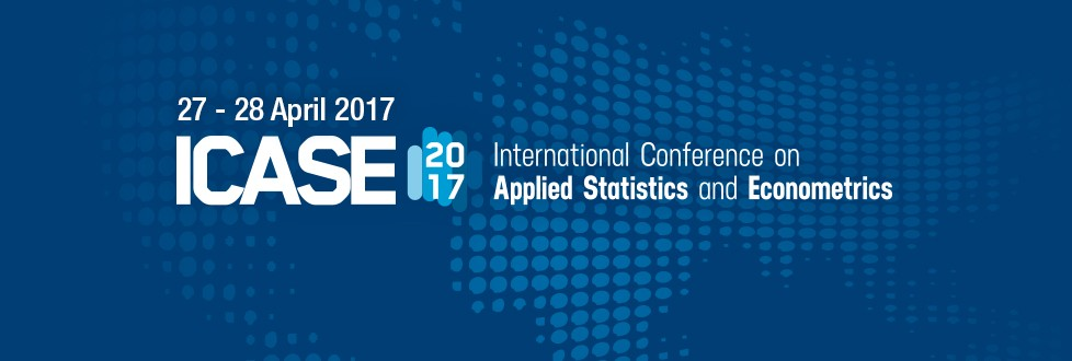 International Conference on Applied Statistics and Econometrics 2017