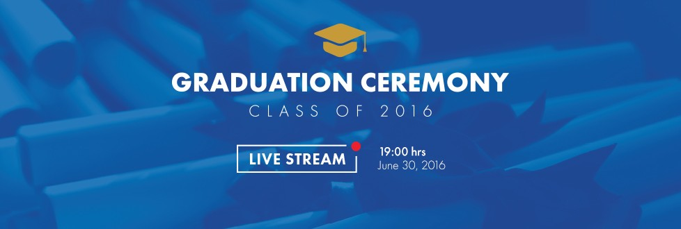 LIVE! Graduation Ceremony 2016