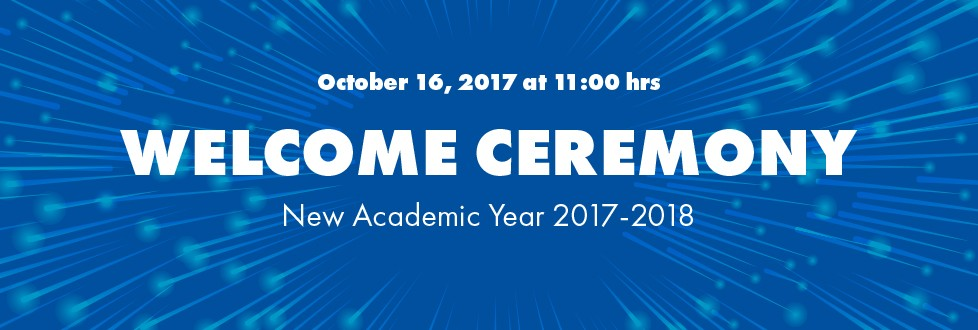 Welcome Ceremony 2017-2018